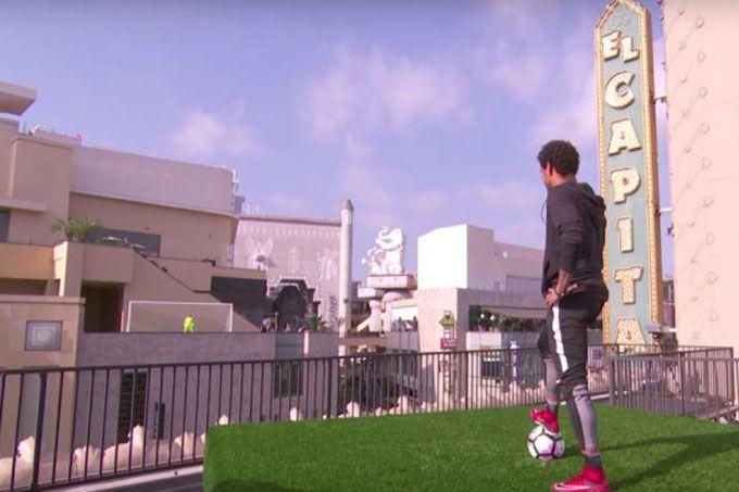 ¡Magistral! El golazo de Neymar en show de Jimmy Kimmel (+video) #Deportes #Fútbol
