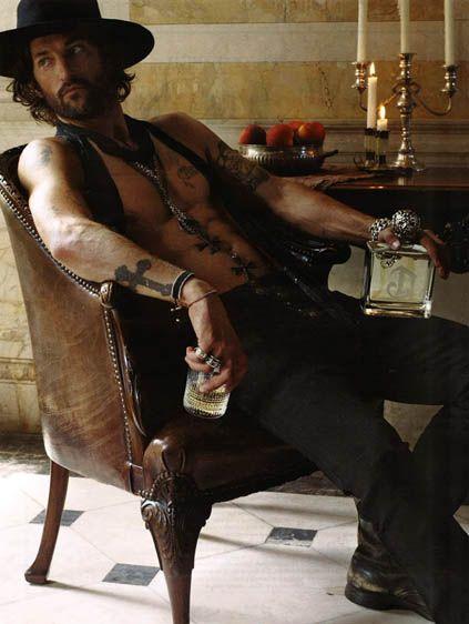 Tony WardInkd Men, Gypsy Style Men, Cowboy Thang, Style Menswear, Cowboy Country, Tonyward, Men Fashion, Tony Ward, Beards Ink Hot