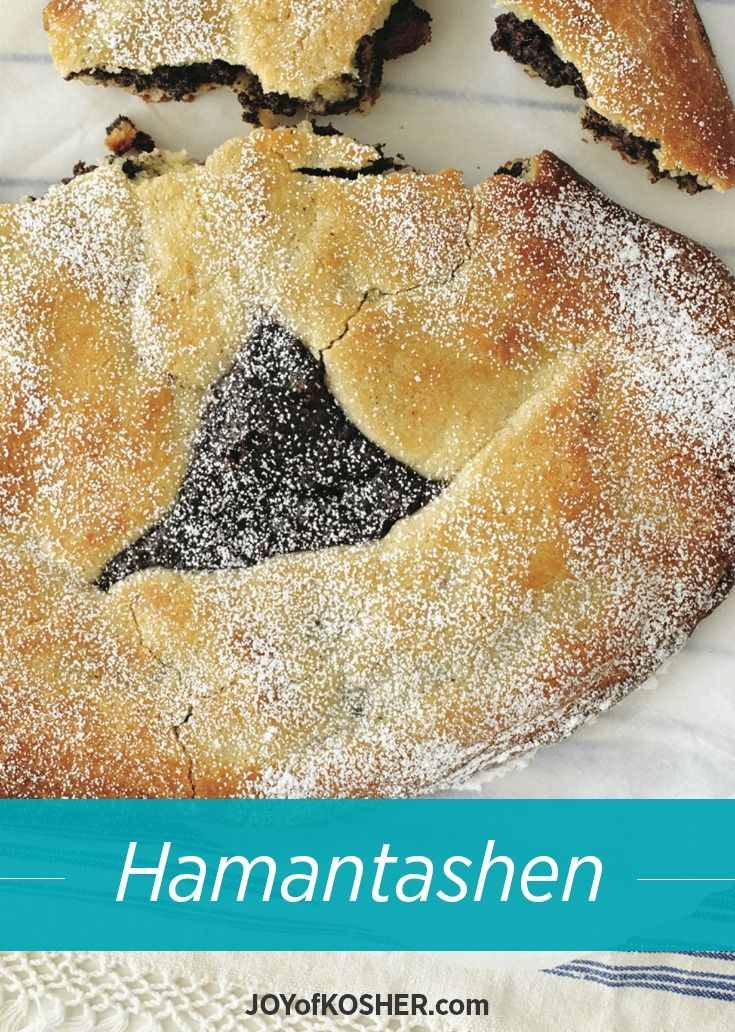 Hamantash Galette Recipe. With a great crust makes comes a great dessert.