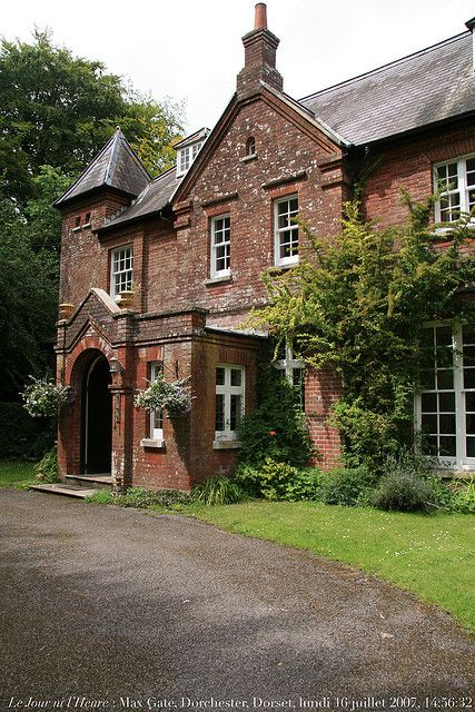 Thomas Hardy's home, Max Gate, Dorchester, Dorset by Renaud Camus on flickr