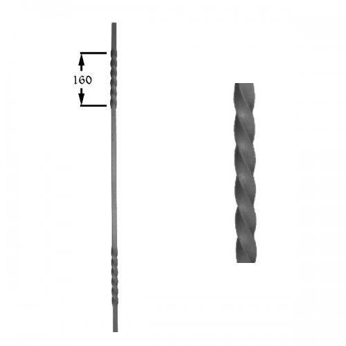 Barrote de hierro forjado 551-03