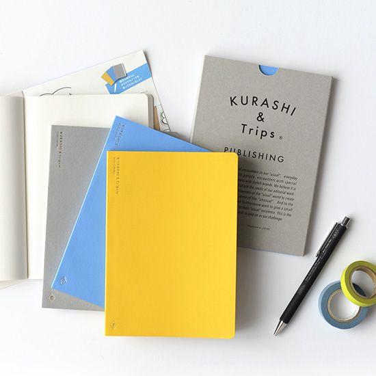 【新商品】スタッフの声をもとに、シンプルで上質な「オトナの自由帳」を作りました!