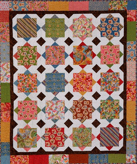 Square Dance quilt - One of my favorites