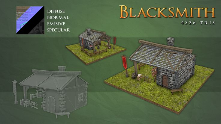 Medieval Fantasy RTS Buildings Pack I - is a pack containing 4 high detailed buildings best suited for a Real Time Strategy game, but not only. Unity Asset Store Link: https://www.assetstore.unity3d.com/en/#!/content/36527