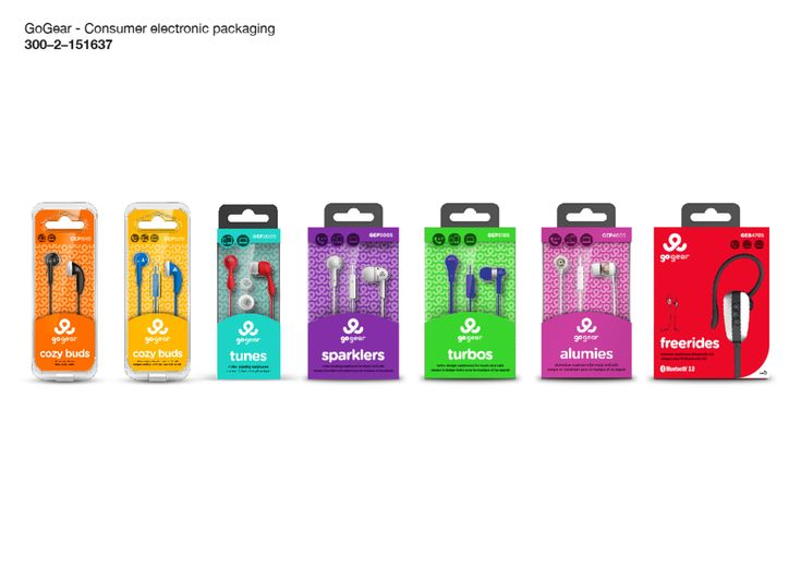 GoGear packaging design | Consumer electronics packaging | Beitragsdetails | iF ONLINE EXHIBITION