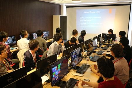 【バンタンゲームアカデミー】『関西 Unreal Engine4 ハンズオンセミナー』開催!