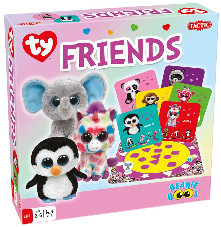 Beanie Boos Friends game (for ages 3 and up)