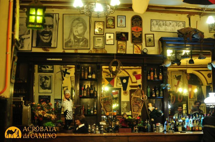 bar-antiguo en Valparaiso. Chile