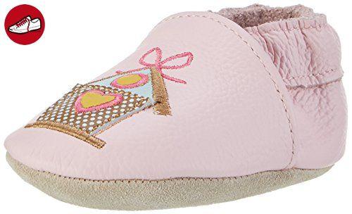 Rose & Chocolat Baby Mädchen Song Bird Lauflernschuhe, Pink (Pink), 26/27 EU (*Partner-Link)