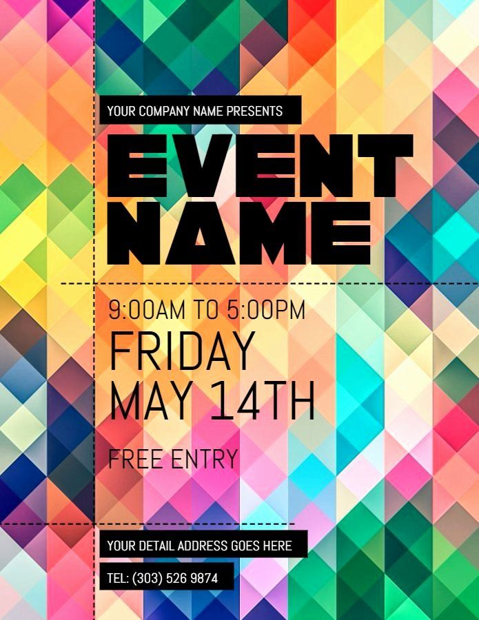 Event Flyer Templates Free Best Of 36 Best Party And Nightclub