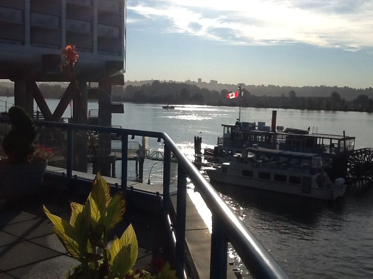 The Paddlewheeler Riverboat Tour located just below the Inn at the Quay Hotel, New Westminster, BC