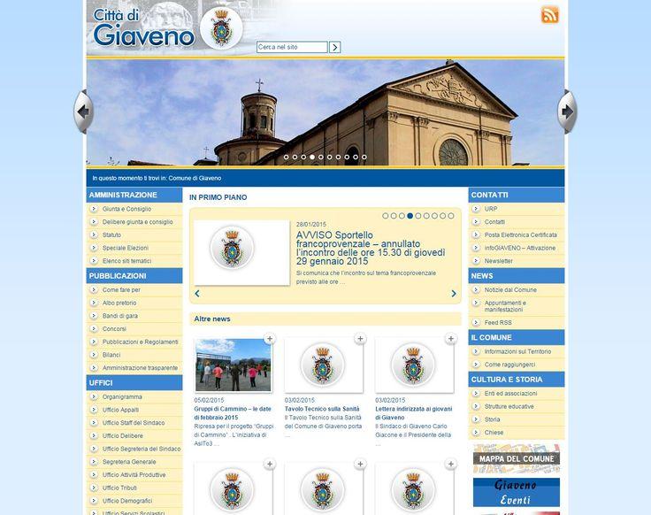 www.comune.giaveno.to.it Sito web del Comune di Giaveno