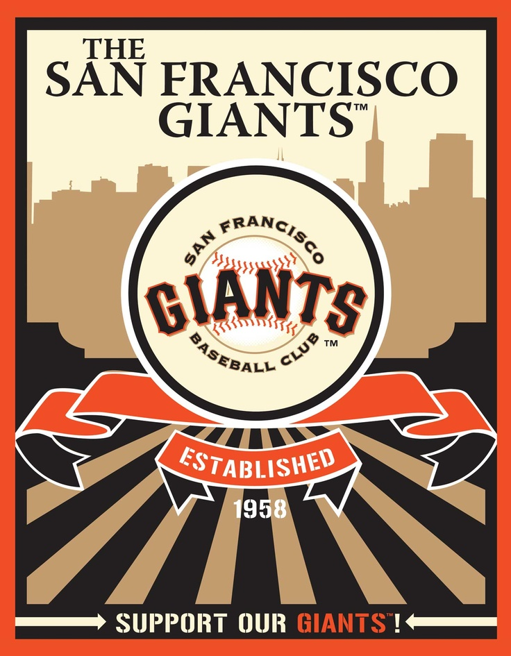 San Francisco Giants Speakman art (Target)