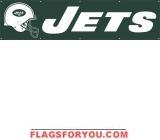 Jets Banner 8' x 2'
