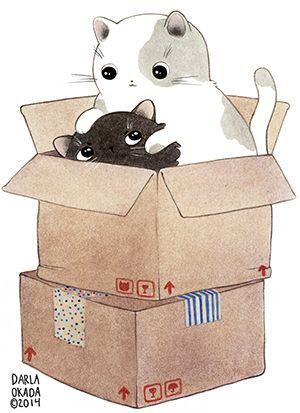 (vía Pin de ♡ Bullzara ❀ ヽ(=´▽`=)ノ en Cats ฅ(^ω^ฅ) | Pinterest)