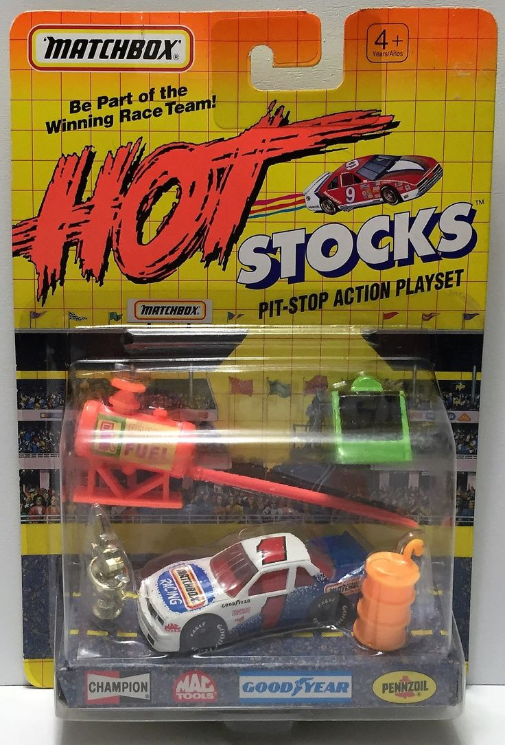 tas034253 matchbox hot stocks pit stop playset matchbox 1