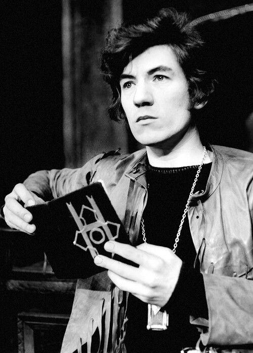 Young Ian Mckellen. Young Gandalf