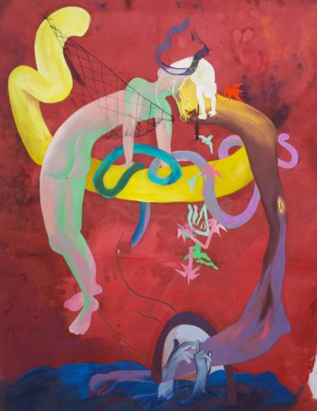 Los Angelas native Nora Berman is an artist and poet who creates beautiful and interesting surrealist paintings. Nora's art is captivating because of her preferred palette that includes a mix…