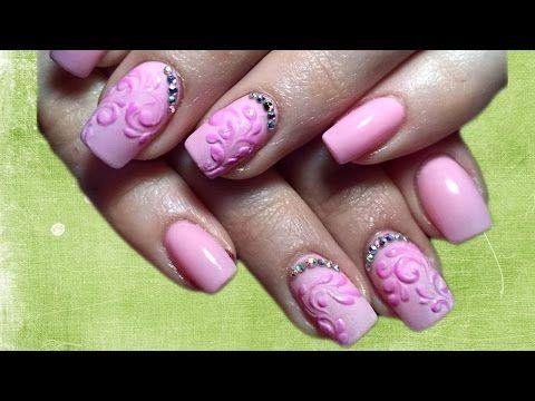 💓 Акриловый рисунок 💓  Топ удивительный дизайн ногтей 💓 Top Nail design manicure - YouTube