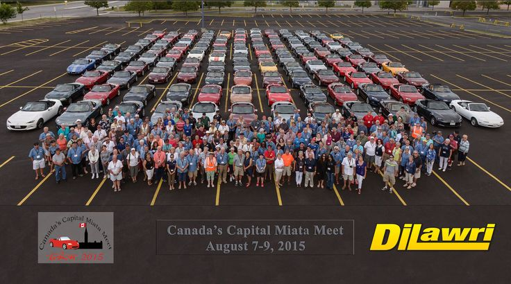 Mazda MX-5 Miata Owners Club For The National Capital Region Of Canada Present Bank Street Mazda With A Much Appreciated Award