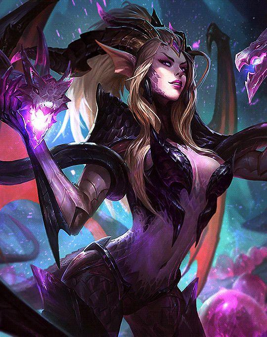 """My prey thinks itself clever."" -   Dragon Sorceress Zyra"
