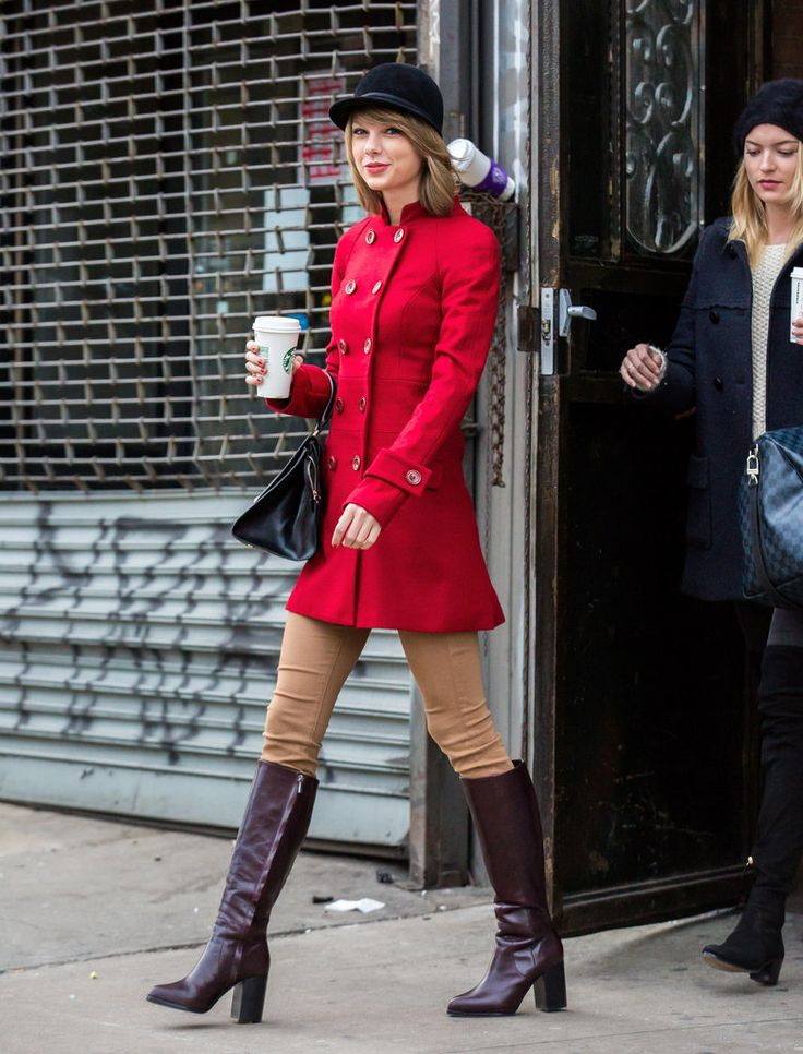 Besides pumpkin-spiced everything, one could argue that Fall is the best time of year for fashion, movies, TV, and, above all, coffee. And no other star embodies or embraces the season quite like Taylor Swift.