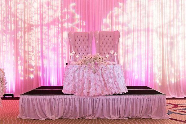 Luxuriously Pink Nigerian Wedding in Tampa - Munaluchi Bridal Magazine