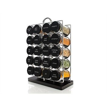 Briscoes - Maxwell & Williams Spice It Up Spice Rack 21Pce
