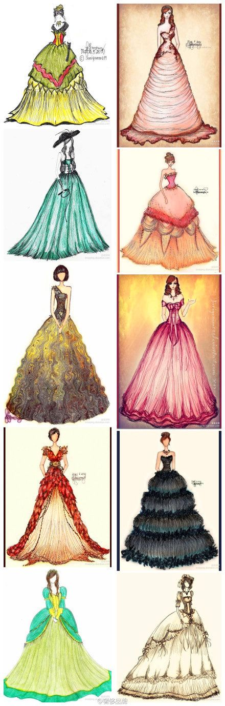 joanna mariefashion sketchbooks artist study - Clothing Design Ideas