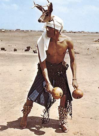 Pascua Yaqui - Deer Dancer