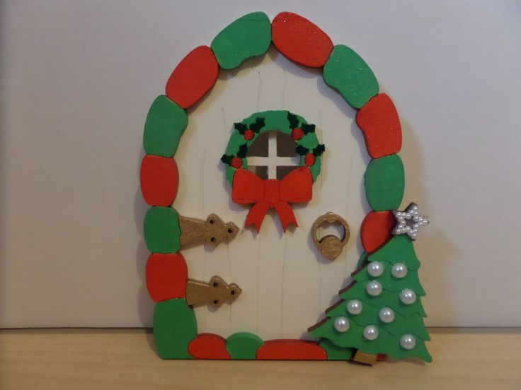 Create a little magic this Christmas with your very own hand painted wooden Elf Door. Available to purchase from ETSY or  https://www.facebook.com/elegantfancies