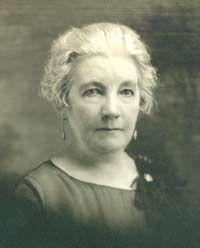 Laura Ingalls Wilder at age 70
