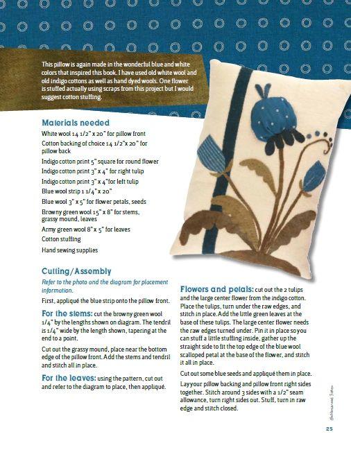Le jardin de woolens appliqu patch pinterest for Jardin woolens