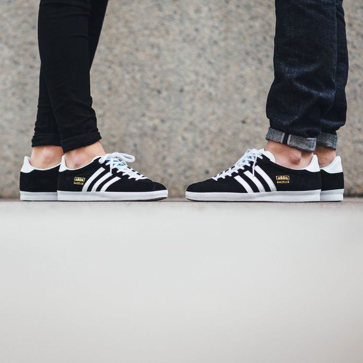 ADIDAS Gazelle OG Black Goldie #sneakers #adidasoriginals #gazelle
