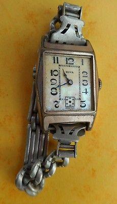 montre ancienne femme Riva cadran en nacre, année 30 pas de verre, ne fonctionne | eBay