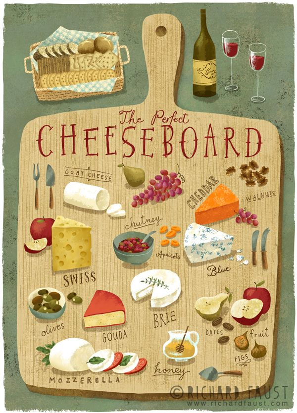 ©Richard Faust - 'The Perfect Cheeseboard' www.richardfaust.com