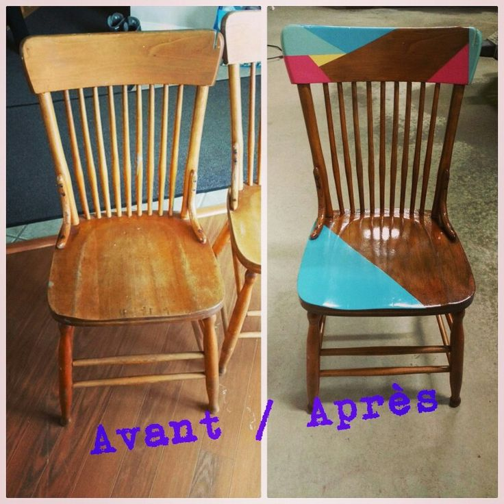 Vieilles chaises.. chaise 1de 3
