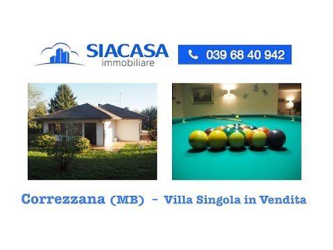 Correzzana (MB) Villa Singola in Vendita  Ad.ze Lesmo - Arcore  - Siacas...