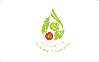 植物工場 Yummy Vegefarm ロゴ