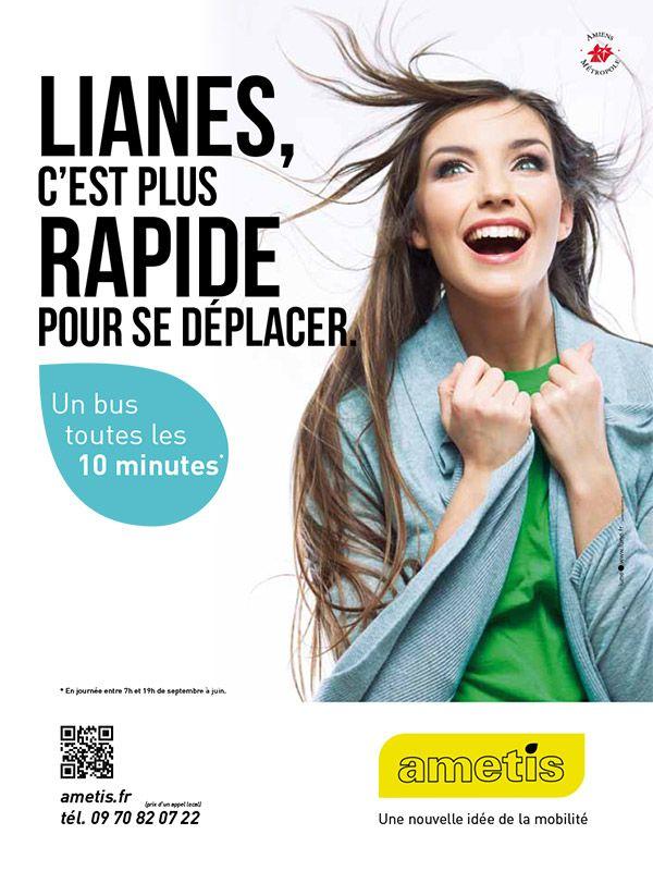 PLV pour le réseau de transport Ametis - http://lune.fr
