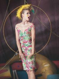 Olvi's Dress short print