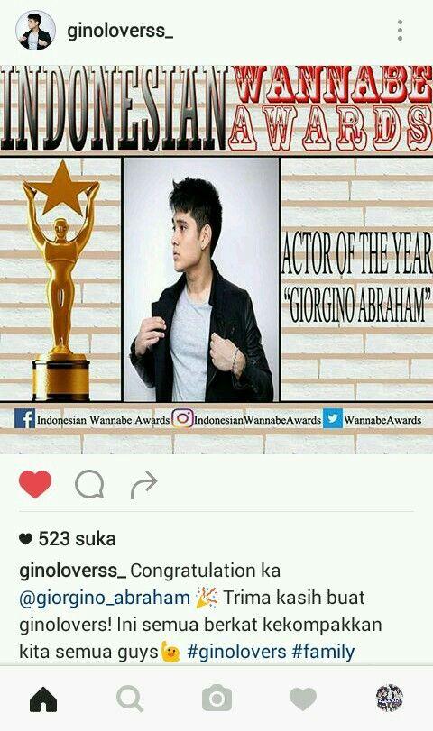 Congrats kak Gino🎊🎉 💙💙