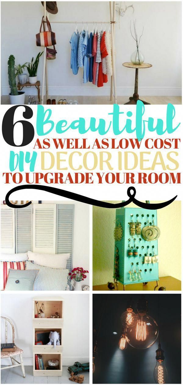If You Are Struggling With Room Decor Because Of A Budget Then