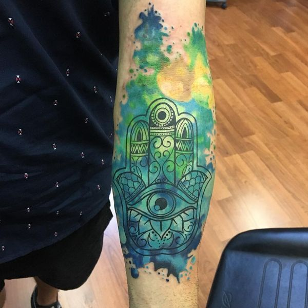 42 Hamsa Tattoo Ideas To Try In March 2020 Hamsa Tattoo