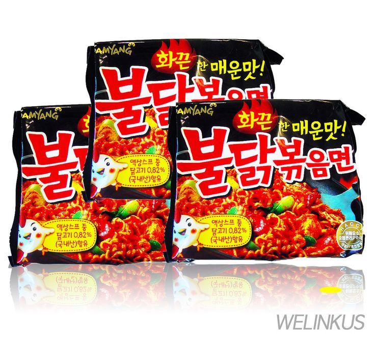 Hot Spicy Chicken Noodles 3, 6, 9ea BULDAKBOKEUM Ramyun Korean Fire Noodle Ramen #SamYang #InstantNoodlePackType