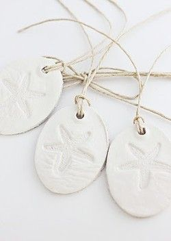 White Clay Tags