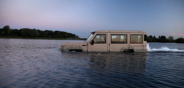 Üsküdar'da deniz bile taşsa da evinize gönül rahatlığı ile su üzerinden ulaşabileceksiniz:   #Amphicruiser