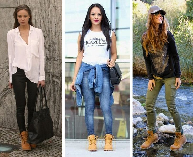 BOTAS TIPO TIMBERLAND OUTFIT - Buscar con Google