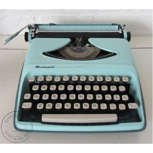 Oude Remmington typemachine mint