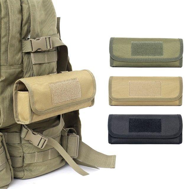 US Tactical Shotgun Shell 12 Rifle Gauge Ammo Holder Carrier Pouch Wallet